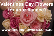 Valentines Day Flowers for your fiancee? - www.findmeflowers.com.au